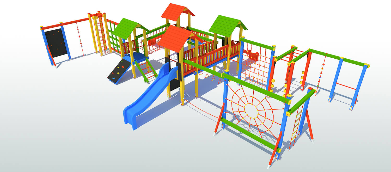 Place zabaw dla dzieci - Zewnętrzne place zabaw
